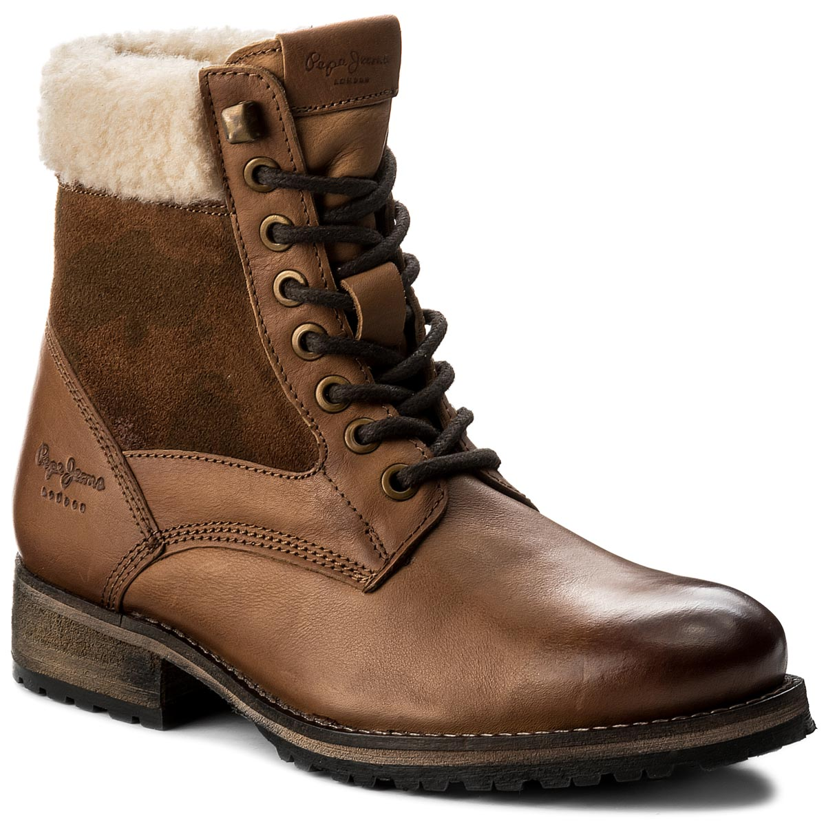 Trapery PEPE JEANS - Melting Camu PLS50291 Nut Brown 877