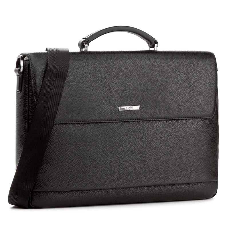 Aktówka BOSS - Element Briefcase 50316867 10191374 01 Black 001