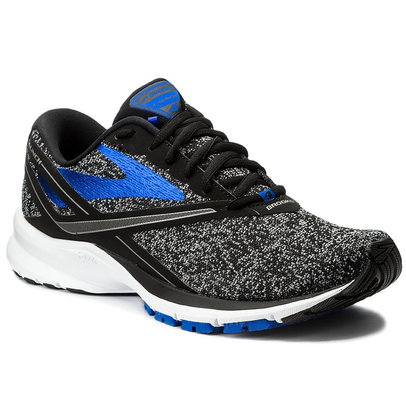 Buty BROOKS - Launch 4 110244 1D 037 Black/Anthracite/Electric Brooks Blue
