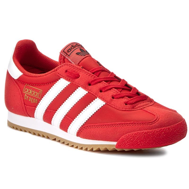 Buty adidas - Dragon Og BY9701 Red/Ftwwht/Gum3