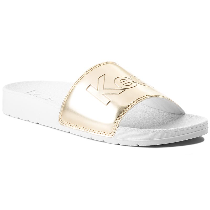 Klapki KEDS - Bliss II WF58220 Cream/Gold