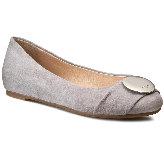 Baleriny JOOP! - Anthea 4140002414 Light Grey 801
