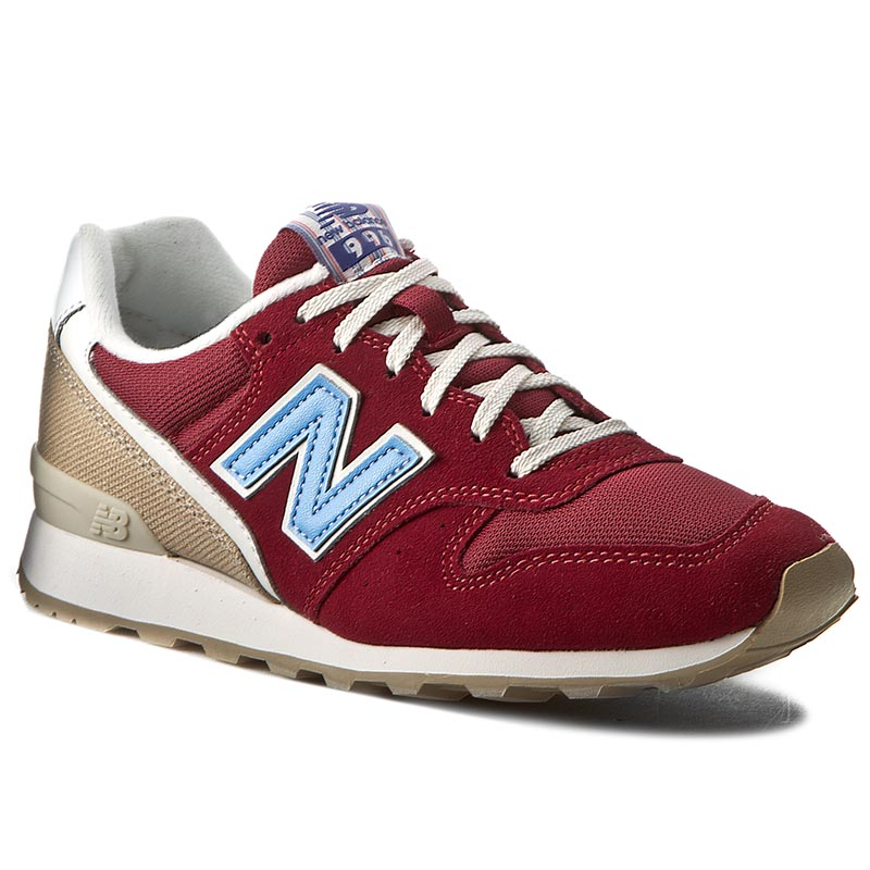 Sneakersy NEW BALANCE - Lifestyle WR996HF Bordowy