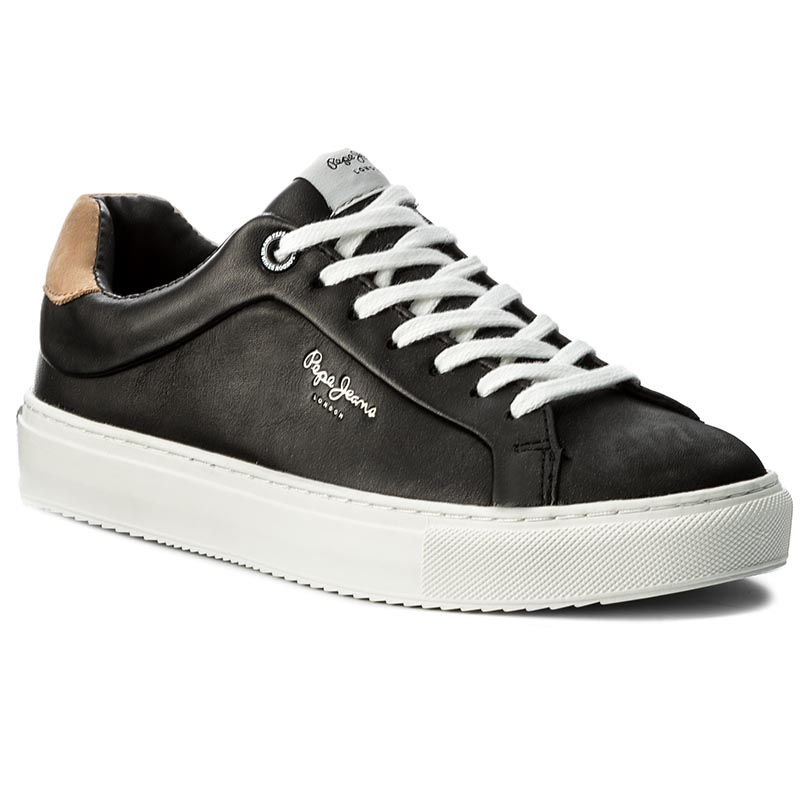 Sneakersy PEPE JEANS - Adams Basic W PLS30608 Black 999