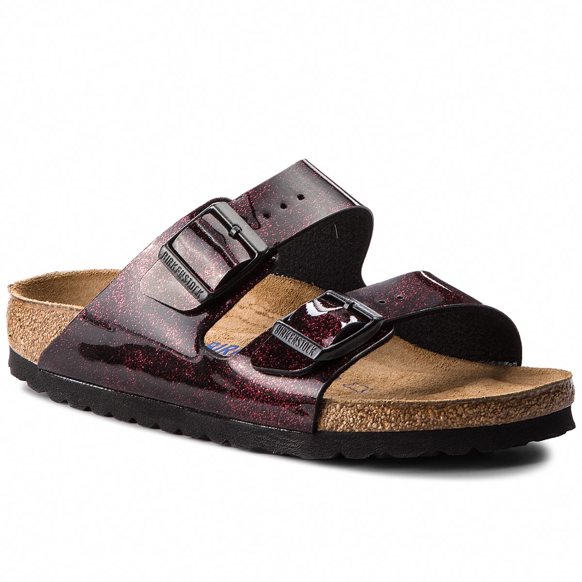 Klapki BIRKENSTOCK - Arizona Bs 1011135  Iride Strong Red