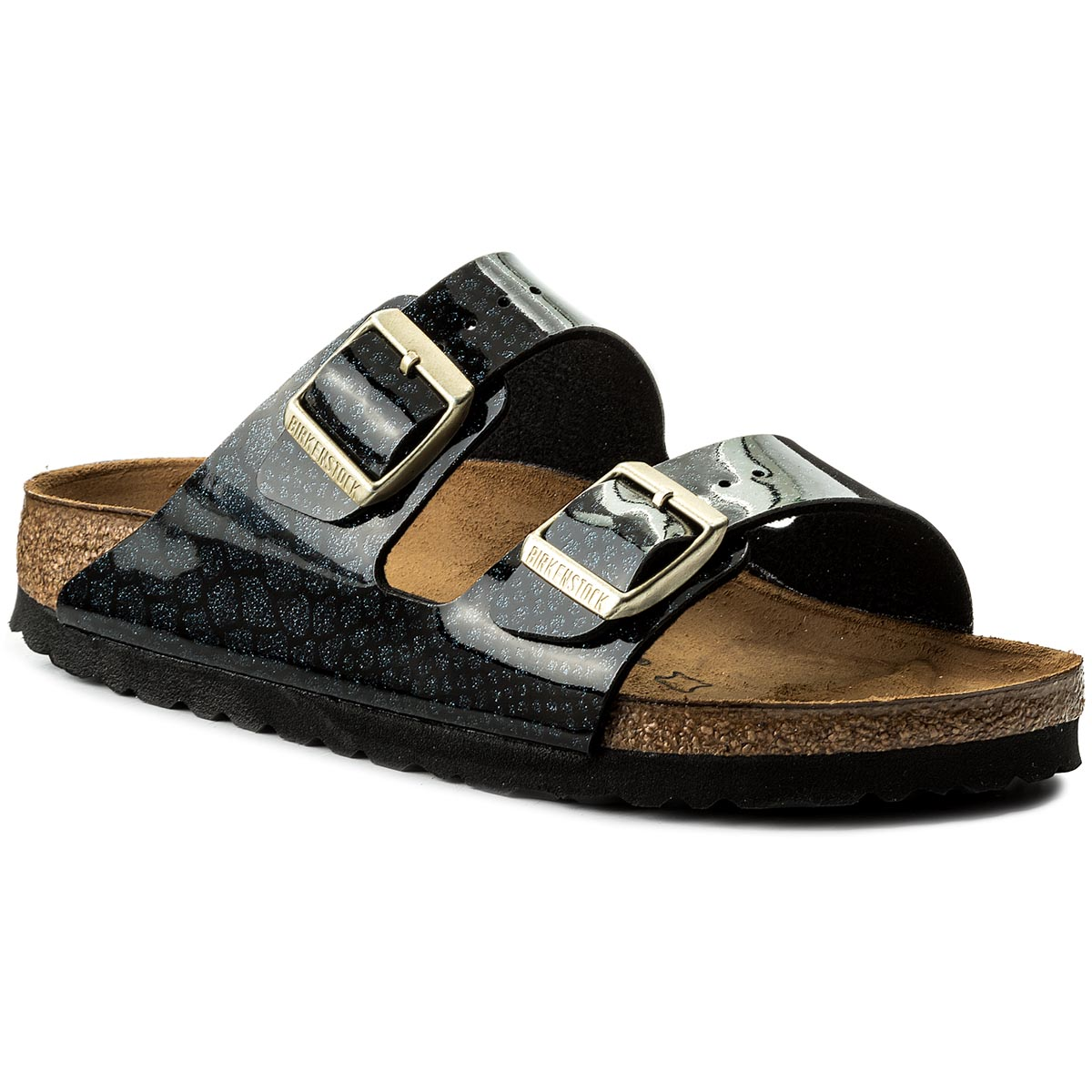 Klapki BIRKENSTOCK - Arizona Bs 1009125 Magic Snake Black