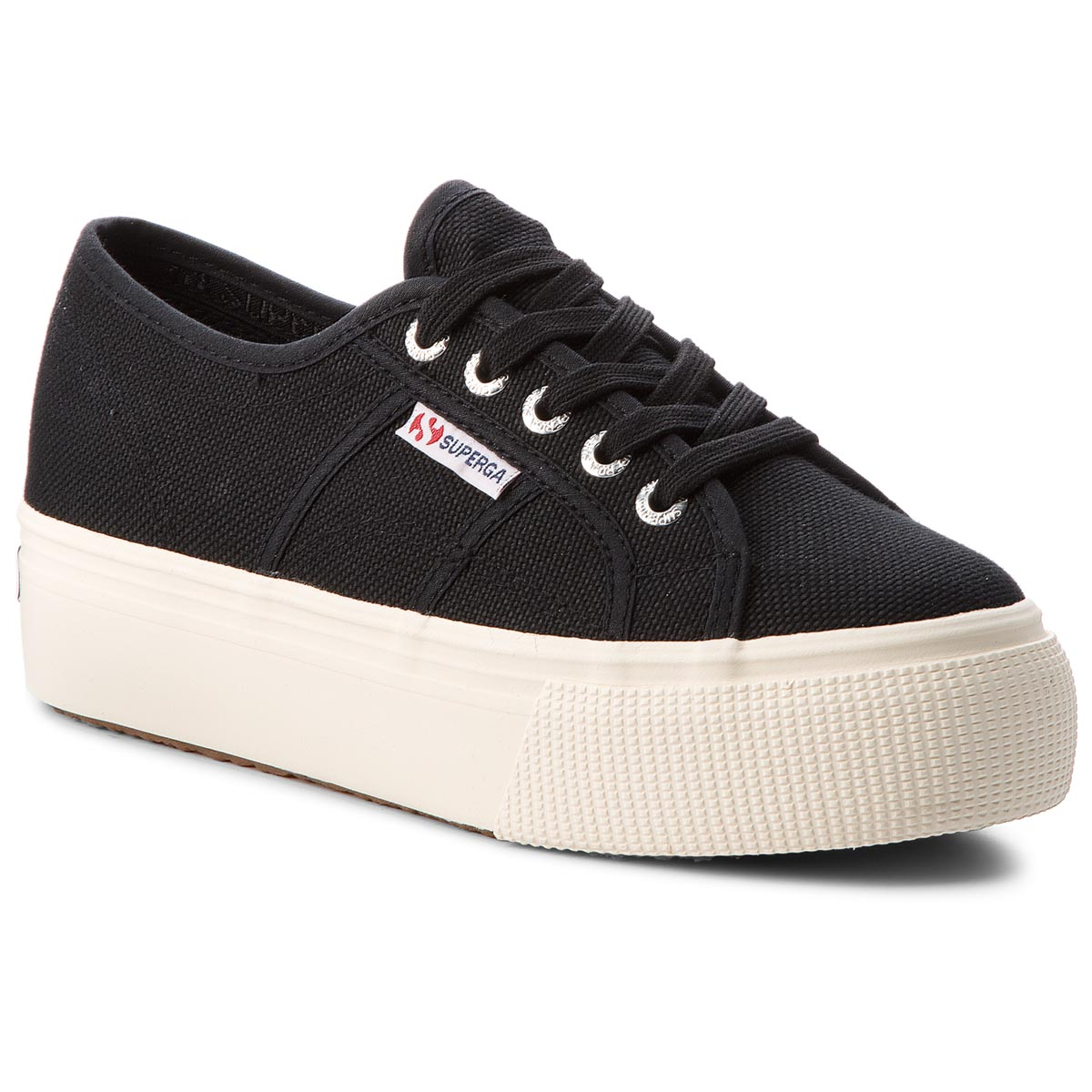 Tenisówki SUPERGA - 2790 Acotw Linea Up And Down S0001L0 Black