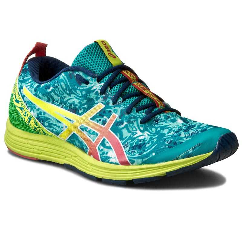 Buty ASICS - Gel-Hyper Tri 2 T678N  Lapis/Safety Yellow/Guava 5307