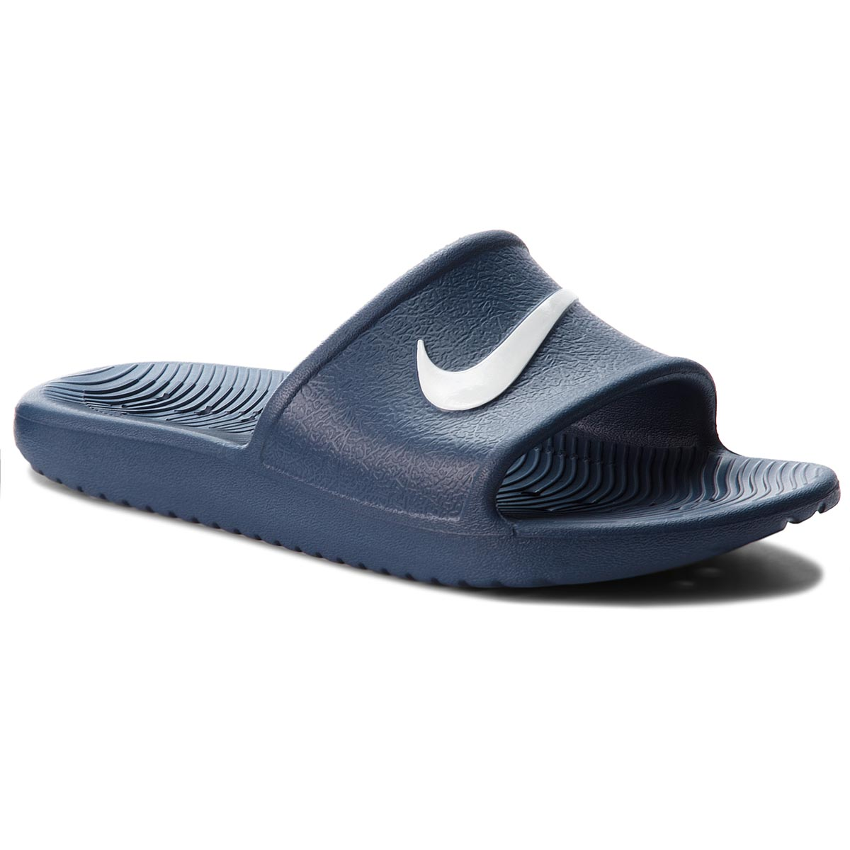 Klapki NIKE - Kawa Shower (GS) AQ0899 401 Navy/White
