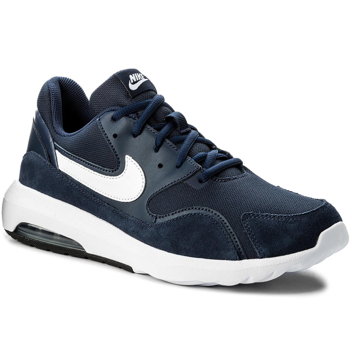 Buty NIKE - Air Max Nostalgic 916781 400 Midnight Navy/White/Black