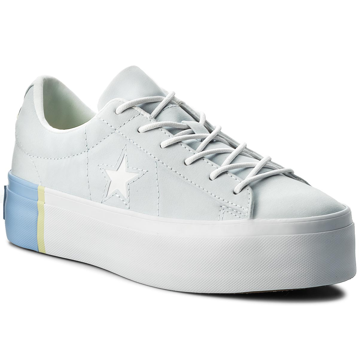 Sneakersy CONVERSE - One Star Platform Ox 559903C Blue Tint/Blue Chill/White