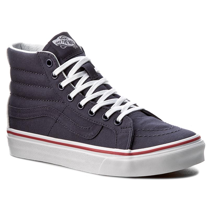 Sneakersy VANS - Sk8-Hi Slim VN0A32R2MT1 (Leather Canvas) Parisian
