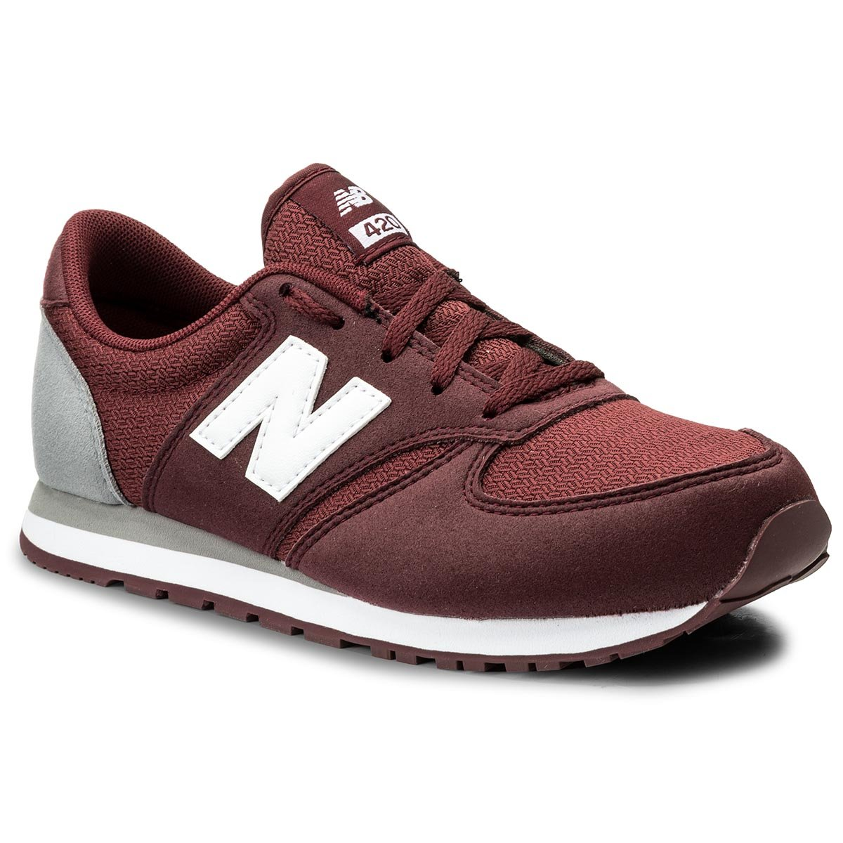Sneakersy NEW BALANCE - KL420BUY Bordowy