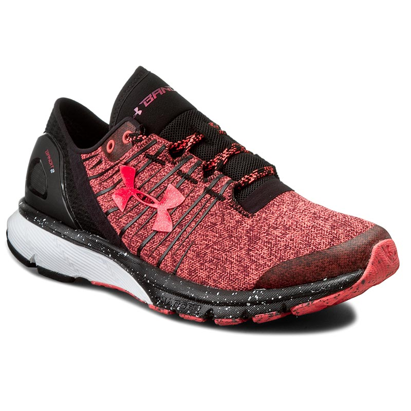 Buty UNDER ARMOUR - Ua W Charged Bandit 2 1273961-806 Pkc/Blk/Pkc