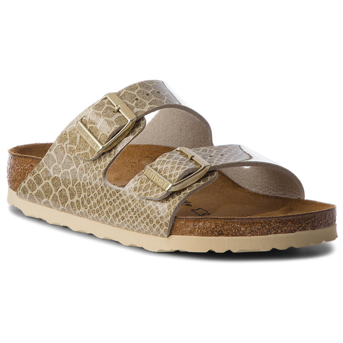 Klapki BIRKENSTOCK - Arizona Bs 1011765 Magic Snake Gold