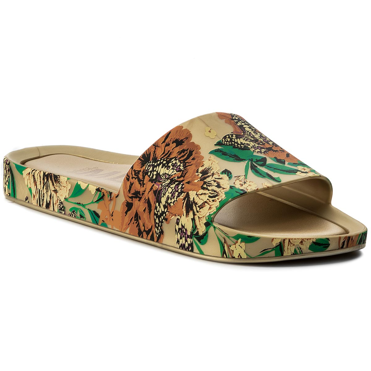 Klapki MELISSA - Beach Slide III Ad 32276 Gold/Green 52236