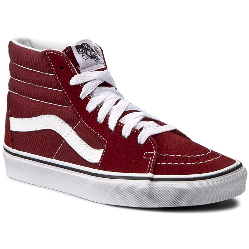 Sneakersy VANS - Sk8-Hi VN0A38GEOVK Madder Brown/True White