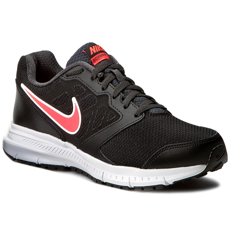 Buty NIKE - Downshifter 6 (W) 684767 002 Black/Hyper Punch/Anthracite