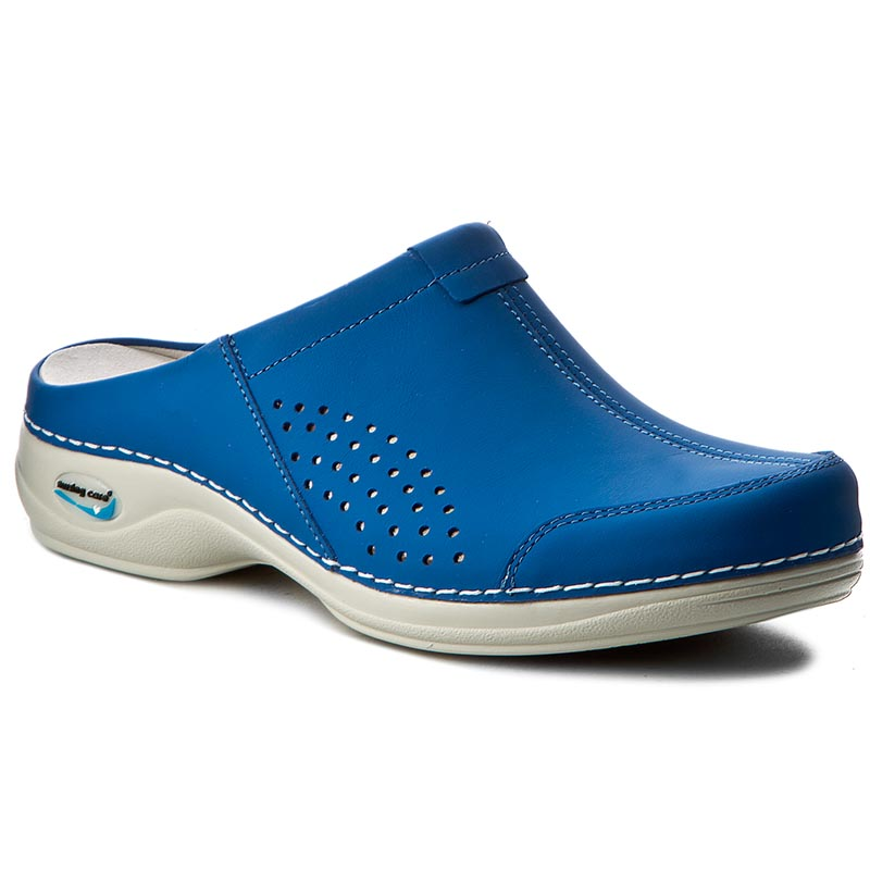 Klapki NURSING CARE - Venezia WG3A07 Electric Blue