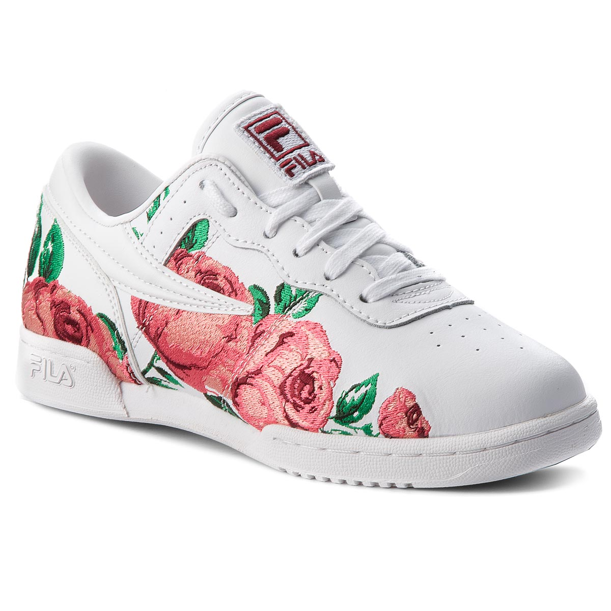 Sneakersy FILA - Original Fitness Embroidery 5FM00014.155 White/Desert Flower/Black