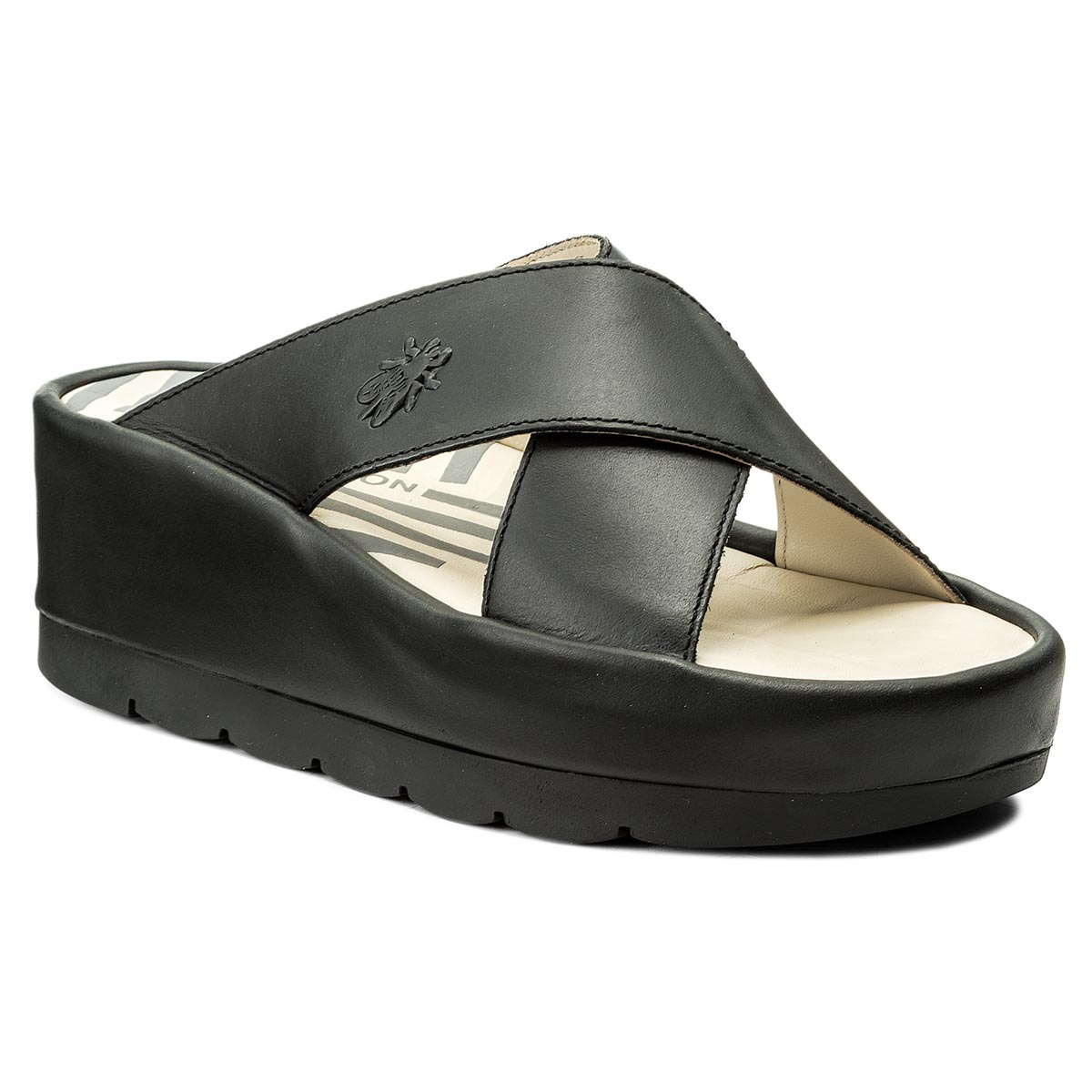 Klapki FLY LONDON - Begsfly P500793000 Black
