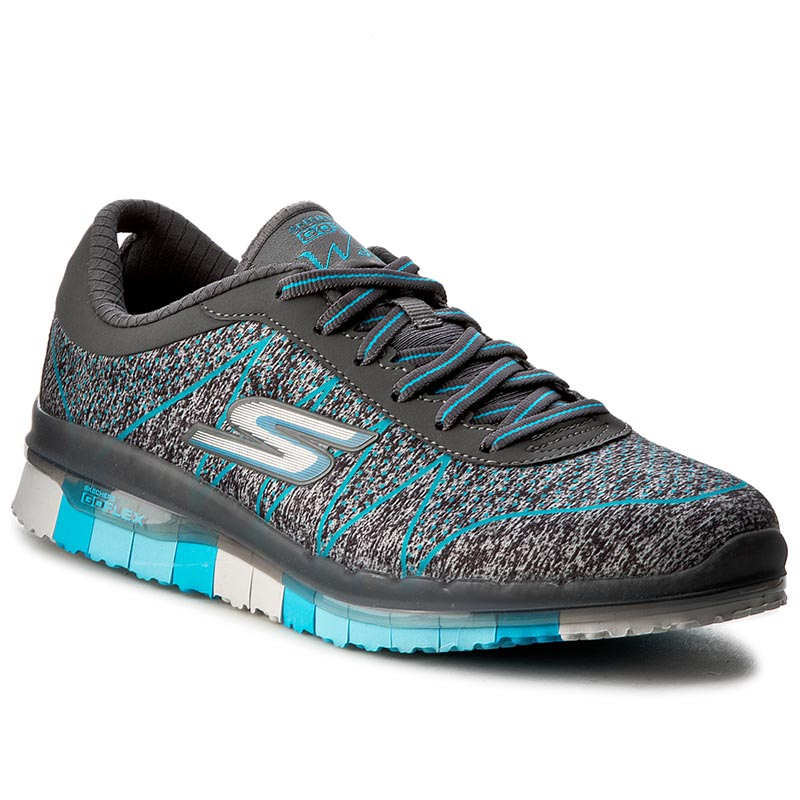 Buty SKECHERS - Ability 14011/CCTQ Charcoal/Turquoise