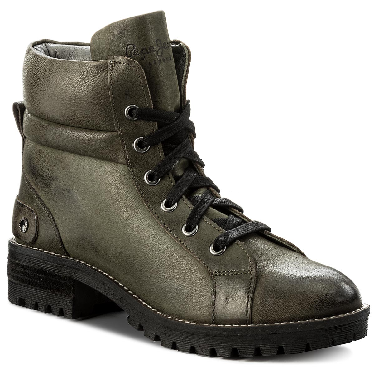 Trapery PEPE JEANS - Hellen Laces PLS50300 Military Green 679