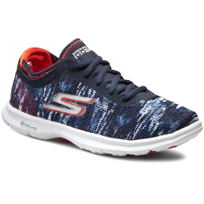 Buty SKECHERS - Go Step 14200/NVCL Navy/Coral