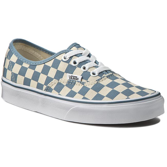 Tenisówki VANS - Authentic VN0003B9IC6 Clsc Wt/Citadel (Chckrbrd)