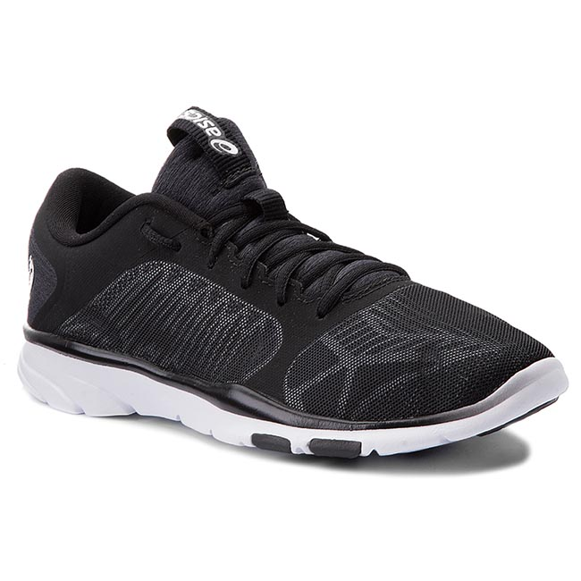 Buty ASICS - Gel-Fit Tempo 3 S752N  Black/Silver/White 9093