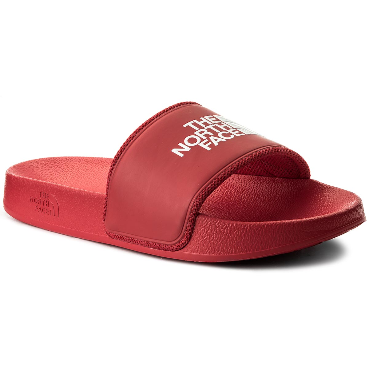 Klapki THE NORTH FACE - Base Camp Slide II T93K4BKZ4 Tnf Red/Tnf White
