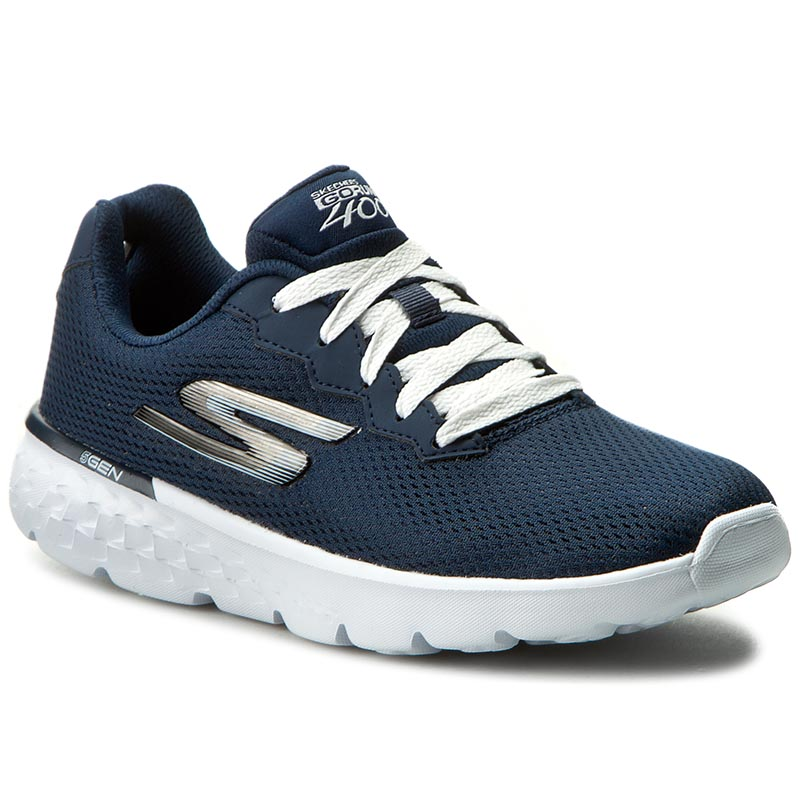 Buty SKECHERS - Action 14351/NVW Navy/White