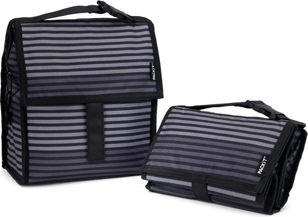PACKiT Lunch Bag 4,4l Gray Stripe (2000-0030)