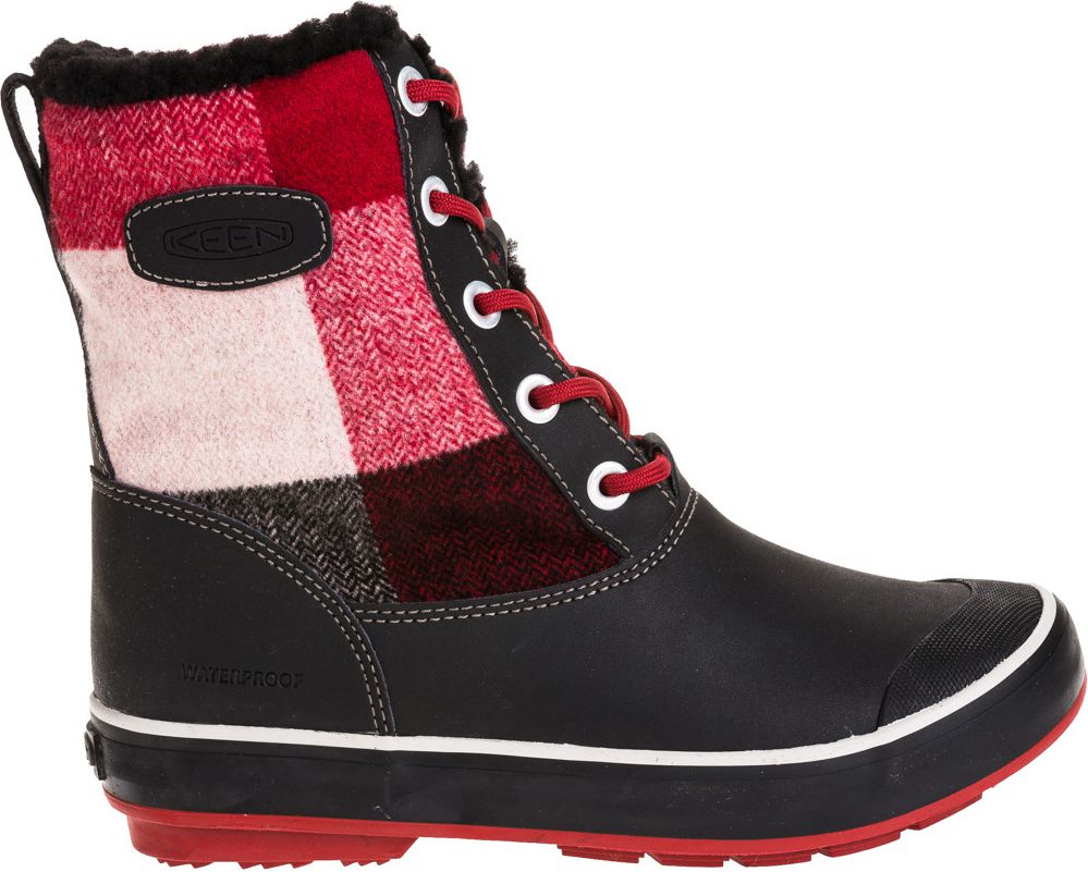 Keen Buty damskie Elsa Boot WP Black/Red Dahlia r. 37.5 (117956)