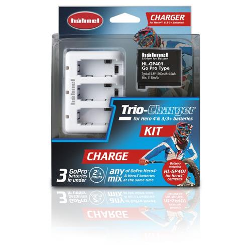 Hahnel TRIO CHARGER KIT (HŁ TRIO CHARGER KIT)