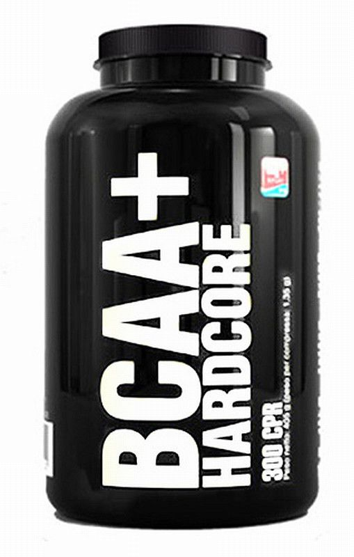 4+ Nutrition 4 BCAA 4:1:1 Hardcore 300 tabl. - FOR/023