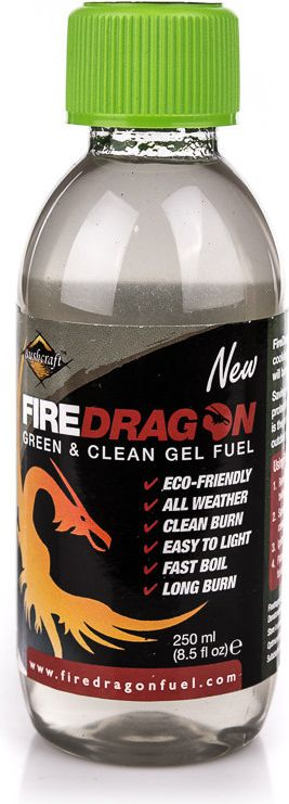 BCB Paliwo w żelu Fire Dragon Green&Clean Gel Fuel 250ml BCB roz. uniw (CN336C)