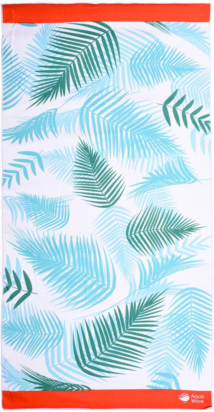 AQUAWAVE Ręcznik JUNGLE TOWEL WHITE JUNGLE PRINT
