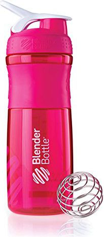 Blender Bottle Shaker do odżywek Blender Bottle SportMixer 830ml różowy - 7739