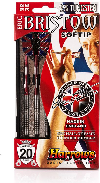 Harrows Rzutki do dart softip Eric Bristow 20g Harrows roz. uniw