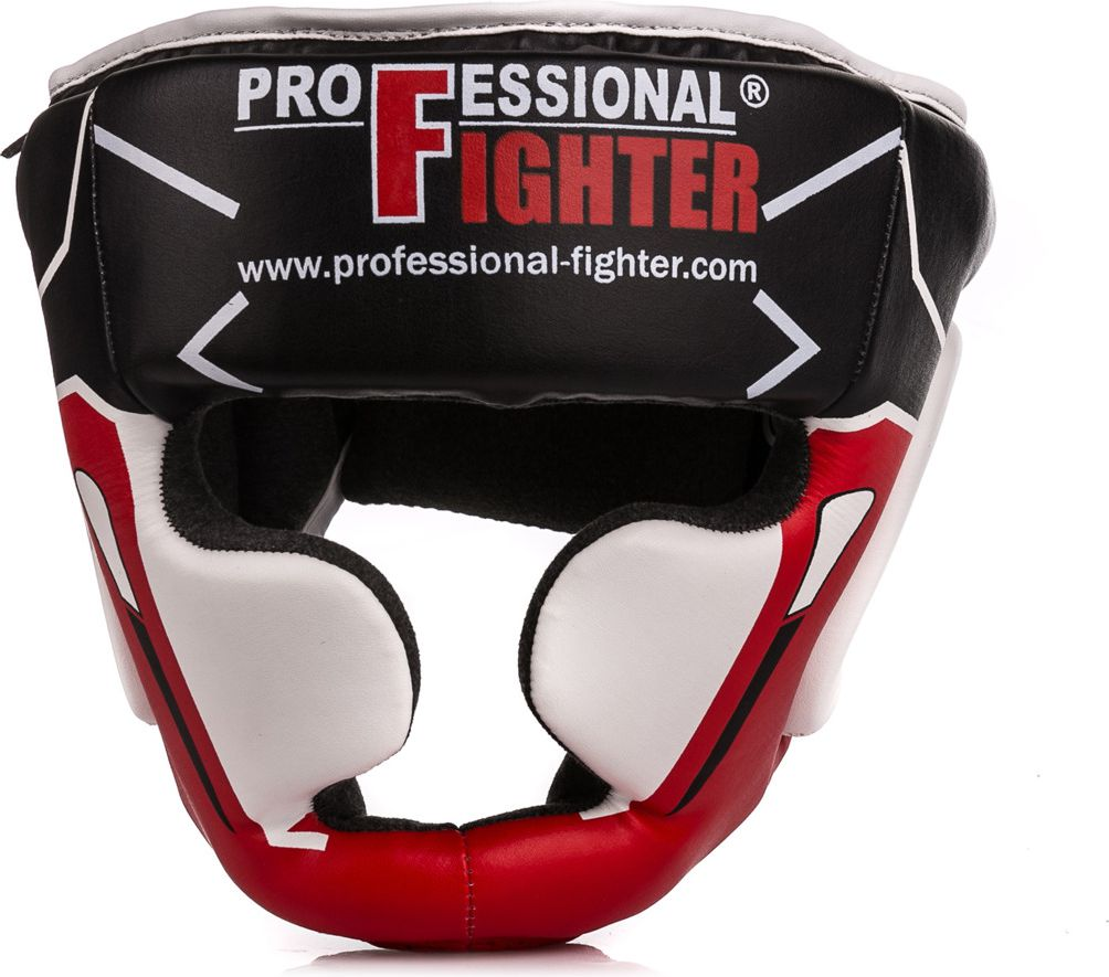 Professional Fighter Kask sparingowy Modern Line 8445 Professional Fighter Red roz. S/M (08445)