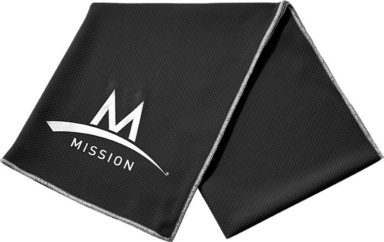 Mission Ręcznik Enduracool Lrg Towel Techknit, Black International (107166IN-BLACK)