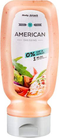 Body Attack Sauce American dressing 320ml