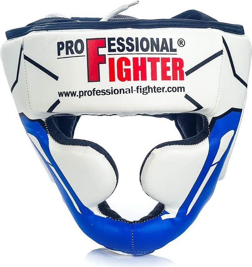 Professional Fighter Kask sparingowy Modern Line 8446 Professional Fighter blue/white roz. L/XL (08446)
