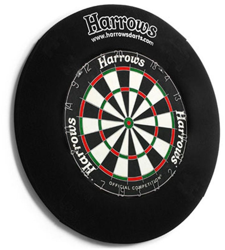 Harrows Ring na tarczę dart Harrows 4 Piece Dartboard Surround uniw - 9671