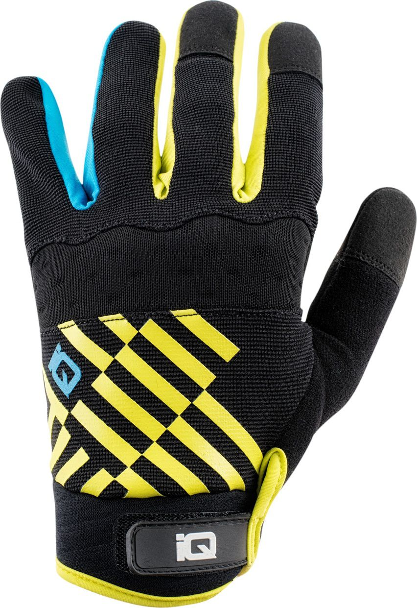 IQ ALLIANCE BLACK/SULPHUR SPRING/MALIBU BLUE L