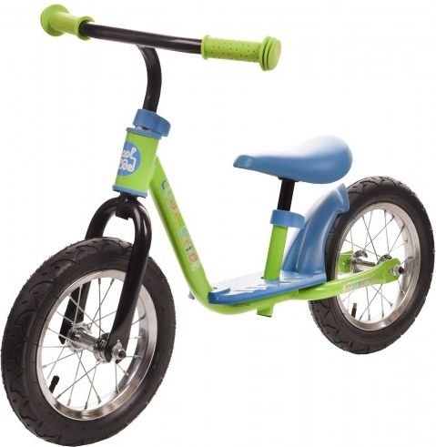 COOLSLIDE Rowerek biegowy INDIANA RUN BIKE GREEN/BLUE