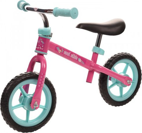 COOLSLIDE Rowerek biegowy FLAMINGO RUN BIKE PINK/MINT