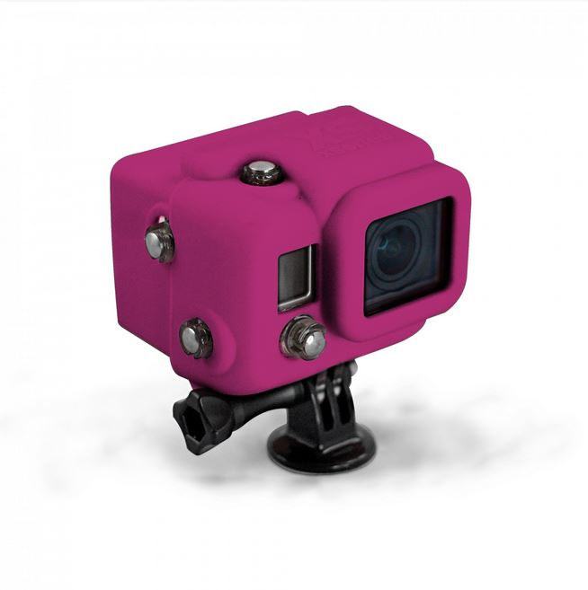 Xsories HOODED SILICONE HD3, Magenta (KAT00448)