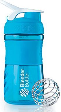 Blender Bottle Shaker do odżywek Blender Bottle SportMixer 590ml aqua - 8251